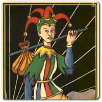 The Fool of the Tarot d'Argolance