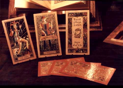 TheTarot d'Argolance, hand painted version